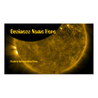 Sun & Moon Business Cards