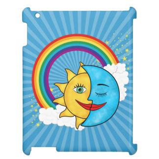 Sun Moon Rainboow Celestial theme Case For The iPad 2 3 4
