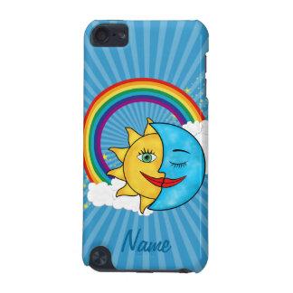 Sun Moon Rainbow Stars iPod Touch 5G Cases