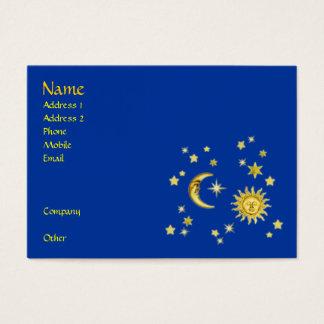 Sun, Moon & Stars Business Card