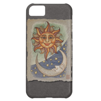 Sun Moon & Stars Case For iPhone 5C