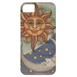 Sun Moon & Stars iPhone 5/5S Covers