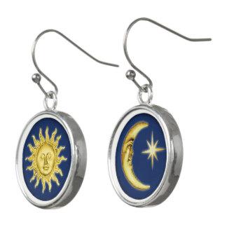 Sun, Moon & Stars Earrings