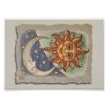 Sun Moon & Stars Photo