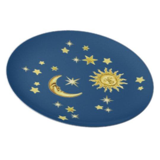 Sun, Moon & Stars Plate