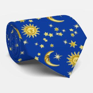 Sun, Moon & Stars Tie