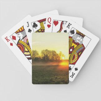 Sun morning joint poker deck