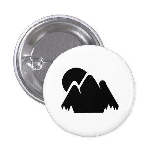 Sun & Mountains Pictogram Button
