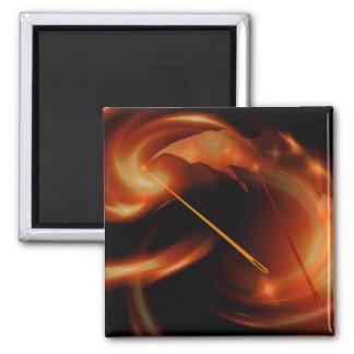 Sun Needles Magnet