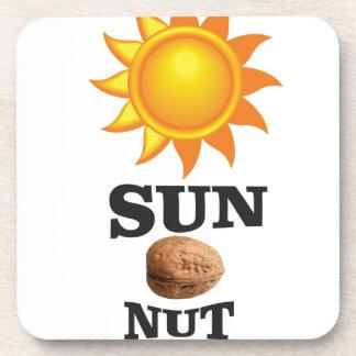 sun nut yeah coaster