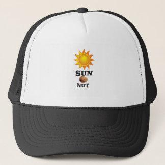sun nut yeah trucker hat