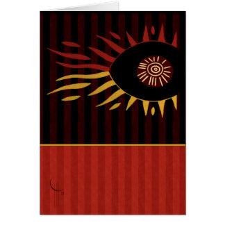 Sun of an Eye Greeting Card