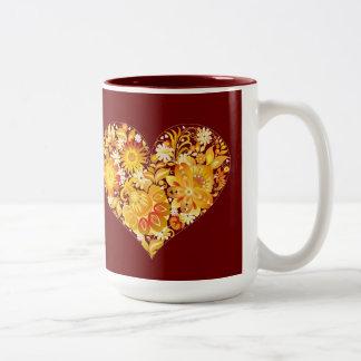Sun of St. Valentine's day - Two-Tone Mug