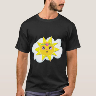 Sun On A Cloud Mens T-Shirt