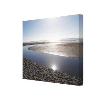 Sun on the Oregon Coast Canvas Print