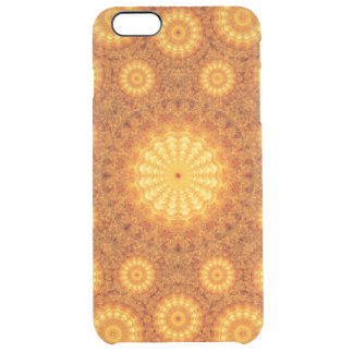 Sun Orbs Mandala Clear iPhone 6 Plus Case