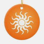 Sun Ornaments