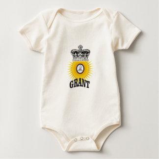 sun oval king grant baby bodysuit