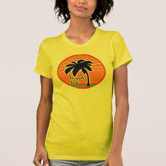sun palm tree 80s T-Shirt