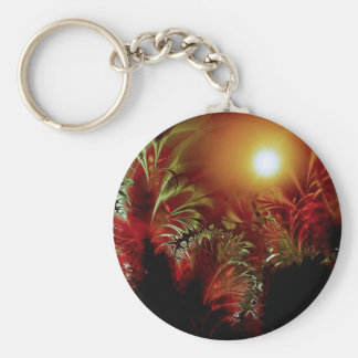 Sun Peace Basic Round Button Key Ring