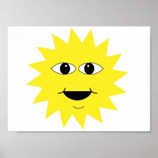 sun poster