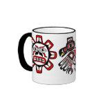 Sun Raven Moon Ringer Mug
