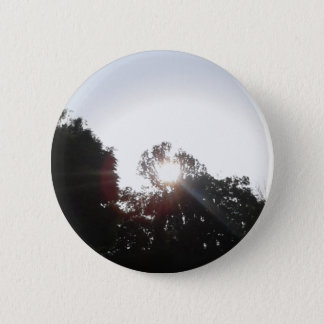 Sun Rays 6 Cm Round Badge
