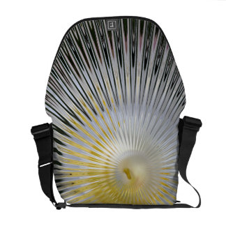 Sun Rays Black and Yellow - Medium Messenger Bag