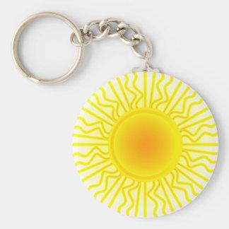 Sun Rays Key Ring