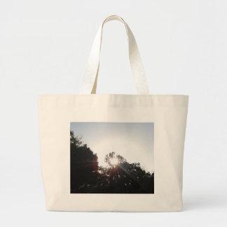 Sun Rays Large Tote Bag