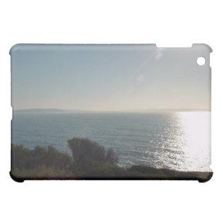 Sun rays on the ocean iPad mini cover