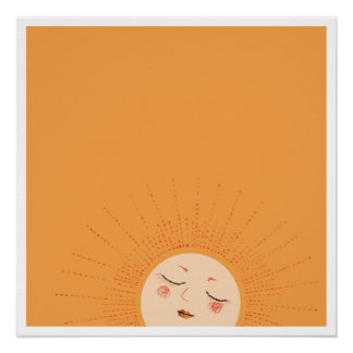 Sun - Rise and Shine (Evening) Poster