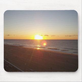 Sun Rising on the Atlantic Ocean Mouse Pad