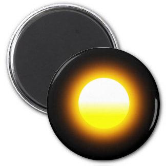 Sun Round Magnet Image 2 Inch Round Magnet