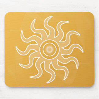 Sun Salutation Mouse Pad