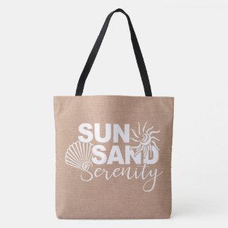 Sun Sand and Serenity Tote Bag