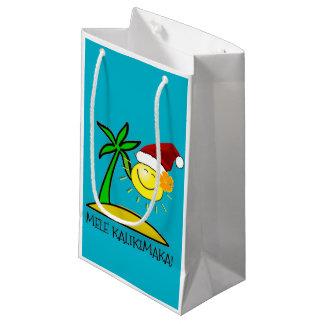 Sun Santa - Mele Kalikimaka Small Gift Bag