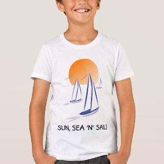 Sun, Sea 'N' Sail Coastal Yachts T-Shirt