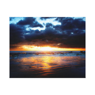 Sun, Sea & Sand Canvas Print