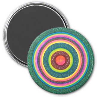 Sun Seed Mandala Magnet