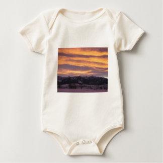 sun set baby bodysuit