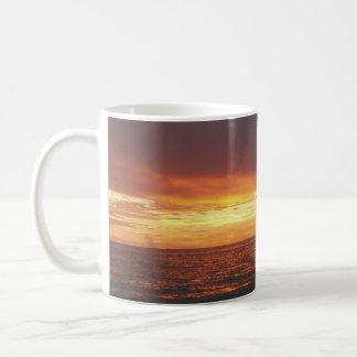 sun set beach mug
