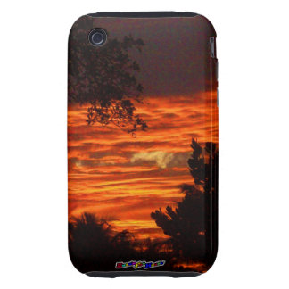 Sun Set Tough iPhone 3 Cover