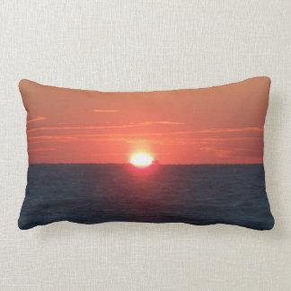 Sun set pillow
