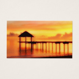 SUN SET ISLAND BUSINESS CARD