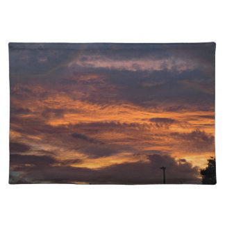 Sun set over Yorkshire Placemat