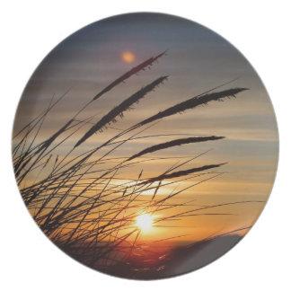 Sun Set Party Plate