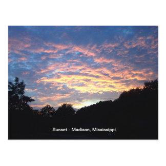 Sun Set Postcard