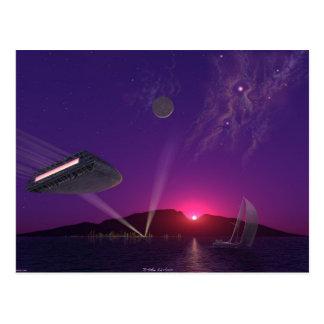 Sun Set Sail Postcard