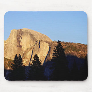 Sun sets on Half Dome Mouse Pads